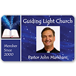 Membership Cards for Churches & Religious Organizations